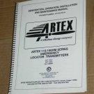 Artex 110-6/100HM series Emergency Locator ELT Manual
