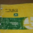 JD Deere 130,160,165,175,180, Tractor Technical Manual