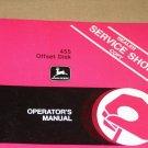 JD John Deere 455 offset disk Operators Manual