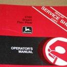 JD John Deere 3700 Drawn Flex Plow Operators Manual