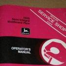 JD John Deere 2600 Integral Mold Plow Operators Manual