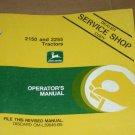 JD John Deere 2150 2255 Tractor Operators Manual