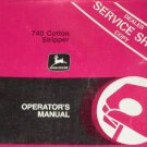 JD John Deere 740 Cotton Stripper Operators Manual