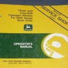 JD John Deere 9000 3&4-Drill Hitch Operators Manual