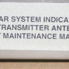 Honeywell/Weatherscout Radar Ind. MI585256, MI585255,MI585264 Main.Manual Vol II