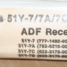 Rockwell Collins 51Y-7/7A/7C/7D ADF Receiver overhaul manual