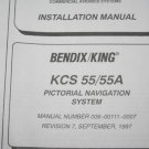 Allied Bendix King KCS-55/55A Pictoral Navigation system Installation manual
