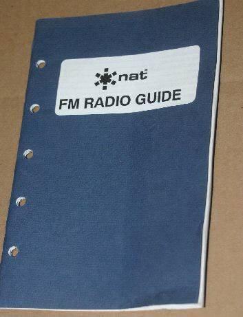 NAT Northern Airborne FM Radio Guide manual