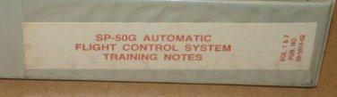 Honeywell SP-50G Auto Flight Control system Training Notes Vol 1&2 09-5910-02