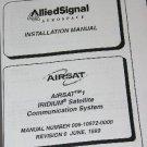 AlliedSignal Airsat 1 Iridium Installation Operation Manual Avionics Honeywell