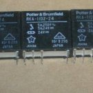 Lot of 5 Potter & Brumfield RKA-11DZ-24 Relay, 24VDC. DPDT-5A PCB Relays