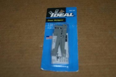 NEW Ideal 45-162 Coaxial Stripper - Up to 1/8 Inch  Never Used! COAX