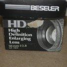 Beseler 8640 HD Enlarging Lens 50mm f/2.8-f/16 per 135mm in BOX Rodenstock APO