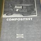 Sure-tronics Compositest ST-100 Operating Users Guide Technical Manual