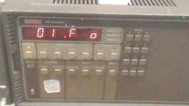 Keithley 706 Scanner with 7053 High Current & 2x 7062 Relay Card Modules