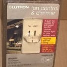 Lutron Skylark S2-LFSQH-IV Dimmer FAN AND LIGHT CONTROL Ivory - BRAND NEW !