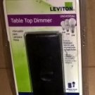 NEW Leviton Black Table Top Dimmer Switch TBL03 Light R15-TBL03-10E