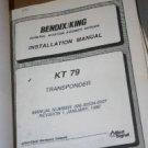 Bendix King KT79 Transponder Installation Manual KT-79 XPDR