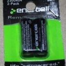 RaidoShack Enerclle 23A Lighter/Remote Battery (2_Pack) #2300404