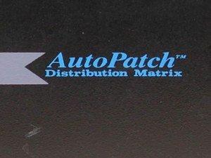 AMX AutoPatch 4YDMA Audio Matrix Switcher 24x20 4YDM