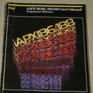 Intel iAPX 86/88,186/188 CPU Proc. User's Manual Programmer's Reference Guide