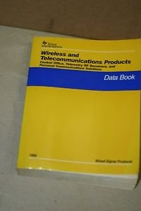 TI Texas Instruments Wireless Telecom Products RF COMM Data Book 07/1996 SLWD001