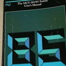 Intel MCS-80/85 CPU Family Processor User's Manual Guide 1983 205775-002