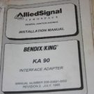 Bendix King KA90 VHF Portable Radio Install/Maintenance Manual KA-90