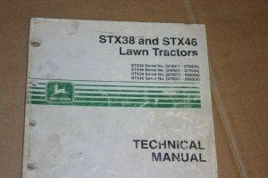 JD John Deere STX38,STX46 Lawn Tractor Technical Manual