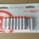 AAA 16 BATTERIES ALKALINE RADIOSHACK  Brand New Fresh exp Dec 2024! 2302214 LR03