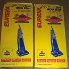 2 Eureka HEPA 60285A B C D F upright Vacuum Cleaner Filter Whirlwind Victory