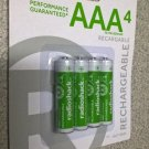 Brand New RadioShack 850mAh AAA Ni-MH Batteries (4-Pack) Catalog #: 2302312