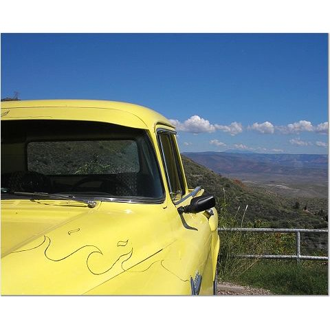 Yellow Truck in AZ 8x10 photo