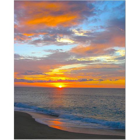 Mexico Sunset 8x10 photo