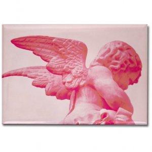 Pink Angel Magnet
