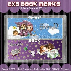 Flying & Sleeping Book Mark