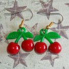 Cute Twin Cherry Earrings