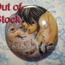2.25 inch. Death Note- LMN Button