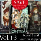 Sacred volume 1,2 & 3