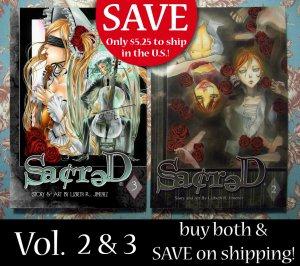 Sacred volume 2 & 3
