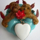 Puppy Love Brooch