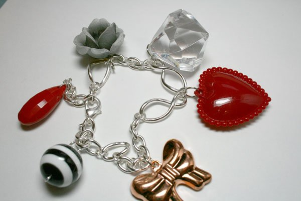 Modern Love Charm Bracelet