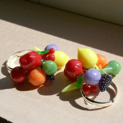 Fruit Cocktail Ring