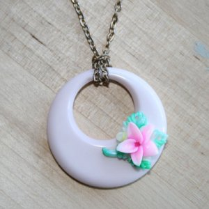 Pastel Moon Necklace