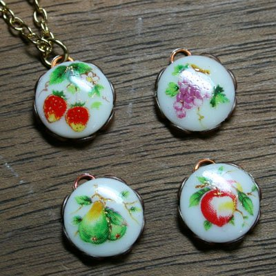 Fruit Drop Pendant