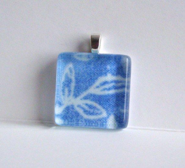 Jean Style Glass Tile Pendant (3)