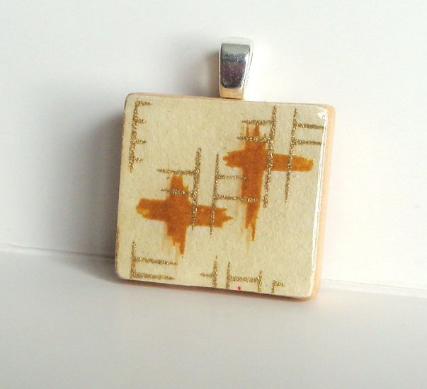 Scrabble Tile Pendant (1)