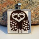 Sweetheart Owl Glass Tile Pendant (11)
