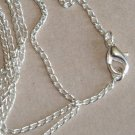 5 Silver Chains for Pendants