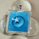 Star Light Glass Tile Pendant